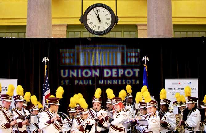 Union Depot Public Opening