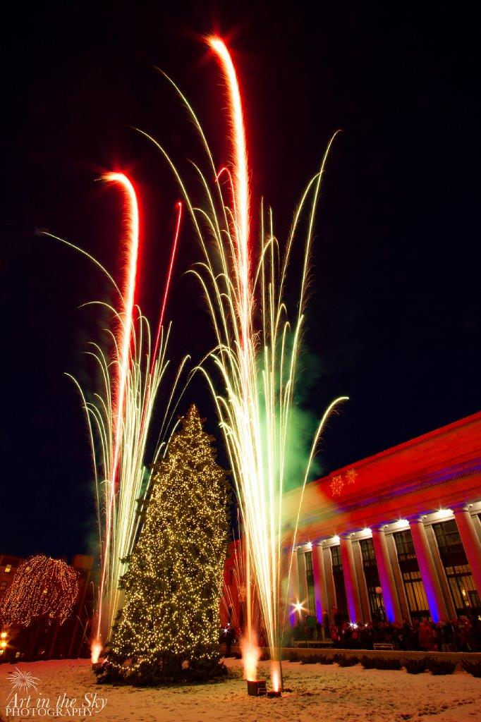 Union Depot Holiday Tree Lighting