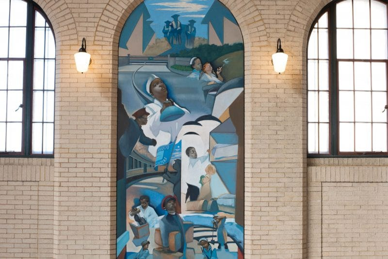 Public art, 6 HISTORICAL AND MULTICULTURAL MURALS