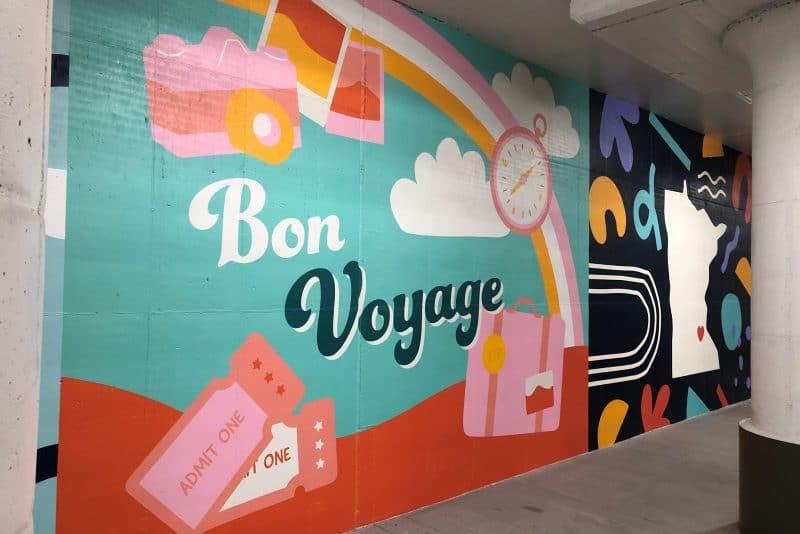 Selfie Wall Mural